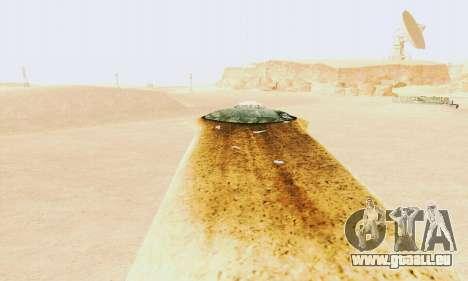 UFO Crash Site für GTA San Andreas zweiten Screenshot