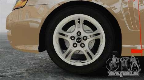 Hyundai Tiburon für GTA 4 Rückansicht