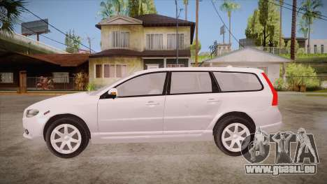 Volvo V70 Unmarked Police für GTA San Andreas linke Ansicht