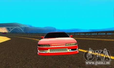 Nissan Silvia S13 HellaDrift pour GTA San Andreas vue de côté