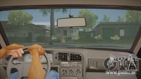 Volkswagen Passat B3 IVLM pour GTA San Andreas vue intérieure