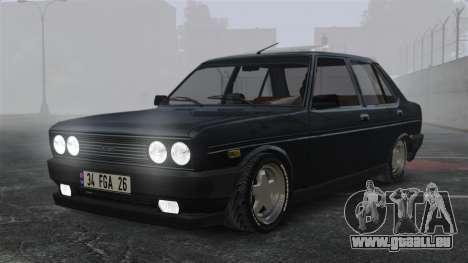 Fiat 131 pour GTA 4