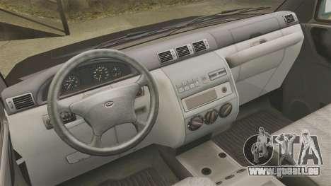 Ramassage UAZ Patriot pour GTA 4 Vue arrière