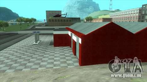 Nouveau garage de Doherty pour GTA San Andreas troisième écran