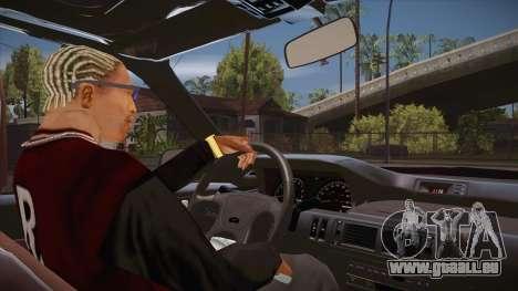 CLEO script: vue depuis la cabine sans pavé num pour GTA San Andreas troisième écran