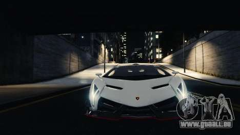 Lamborghini Veneno pour GTA 4 Vue arrière