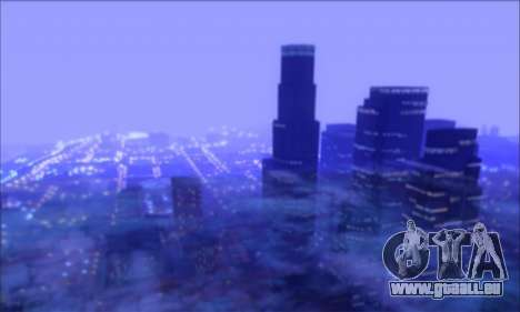 FF TG ICY ENB V1.0 pour GTA San Andreas deuxième écran