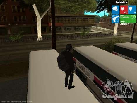 Le voleur de banque pour GTA San Andreas troisième écran