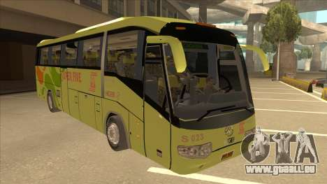 Higer KLQ6129QE - Super Five Transport S 023 pour GTA San Andreas laissé vue