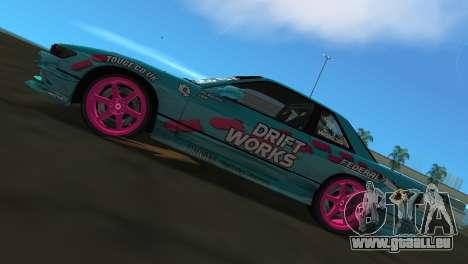 Nissan Silvia S13 Drift Works für GTA Vice City rechten Ansicht