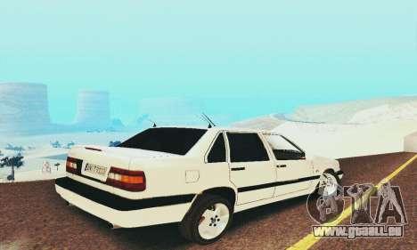 Volvo 850 pour GTA San Andreas vue arrière