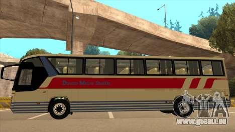 Davao Metro Shuttle 296 für GTA San Andreas zurück linke Ansicht