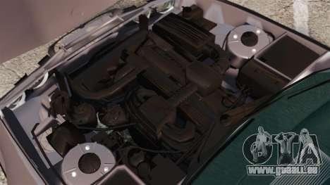 BMW 535 E34 Touring pour GTA 4 est une vue de l'intérieur