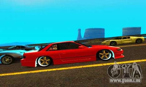 Nissan Silvia S13 HellaDrift pour GTA San Andreas vue arrière