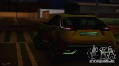 Lada X-Ray für GTA San Andreas Seitenansicht