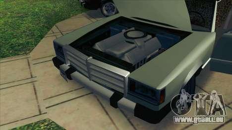 Feltzer C107 coupe für GTA San Andreas Rückansicht