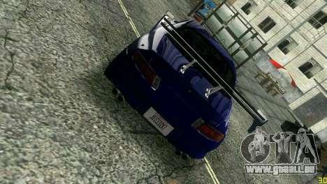 Mitsubishi FTO pour une vue GTA Vice City de l'intérieur