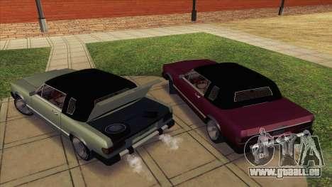 Feltzer C107 coupe für GTA San Andreas rechten Ansicht
