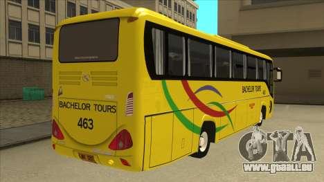 Kinglong XMQ6126Y - Bachelor Tours 463 für GTA San Andreas rechten Ansicht