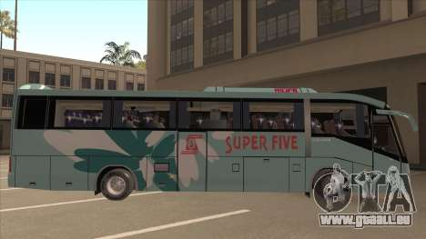 Higer KLQ6129QE - Super Fice Transport S 020 pour GTA San Andreas sur la vue arrière gauche