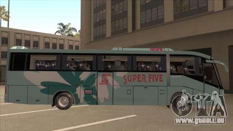 Higer KLQ6129QE - Super Fice Transport S 020 für GTA San Andreas zurück linke Ansicht