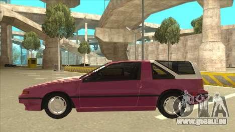 Nissan EXA L.A. Version für GTA San Andreas Motor