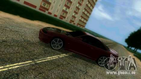Nissan Silvia S14 Light Tuning für GTA Vice City obere Ansicht