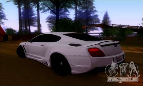 Bentley Continental GT für GTA San Andreas rechten Ansicht