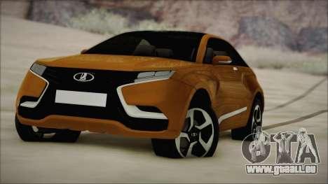 Lada X-Ray für GTA San Andreas Rückansicht
