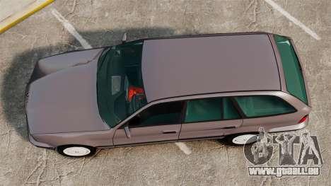BMW 535 E34 Touring für GTA 4 rechte Ansicht