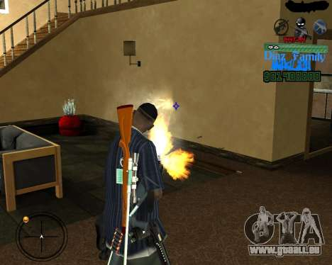 C-Hud for SA:MP für GTA San Andreas dritten Screenshot