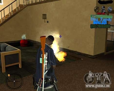 C-Hud for SA:MP pour GTA San Andreas troisième écran