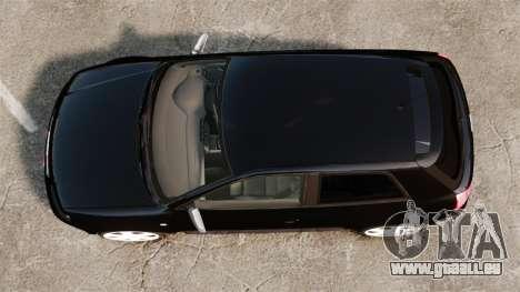 Audi S3 2001 für GTA 4 rechte Ansicht