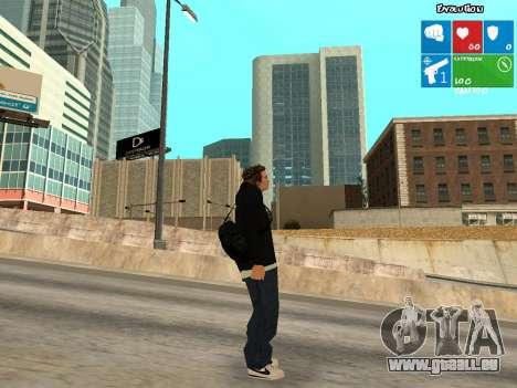 Nouveau KentPaul pour GTA San Andreas deuxième écran