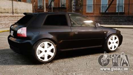 Audi S3 2001 für GTA 4 linke Ansicht