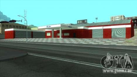 Neue Garage in Doherty für GTA San Andreas