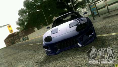 Mitsubishi FTO pour GTA Vice City vue latérale