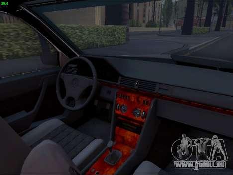 Mercedes-Benz E-Class W124 für GTA San Andreas Seitenansicht