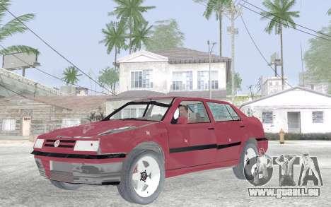 Volkswagen Vento für GTA San Andreas Innenansicht