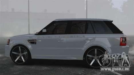 Range Rover Sport Autobiography 2013 Vossen pour GTA 4 est une gauche