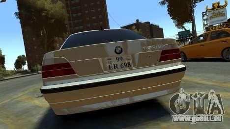 BMW 750iL pour GTA 4 est un droit