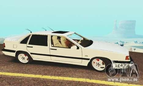 Volvo 850 pour GTA San Andreas sur la vue arrière gauche