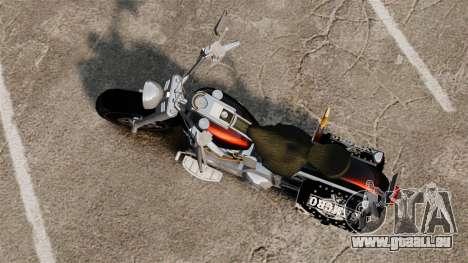 Harley-Davidson für GTA 4 hinten links Ansicht