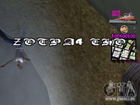 C-HUD by Kerro Diaz [ Ballas ] pour GTA San Andreas cinquième écran