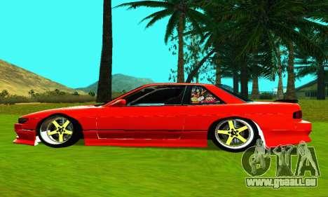Nissan Silvia S13 HellaDrift pour GTA San Andreas laissé vue