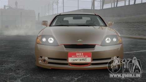 Hyundai Tiburon pour GTA 4