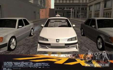 Peugeot 406 Taxi v2 für GTA San Andreas