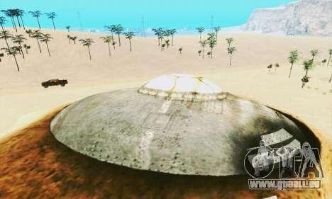 UFO Crash Site für GTA San Andreas fünften Screenshot