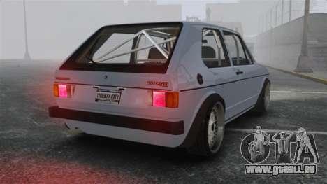 Volkswagen Golf MK1 GTI Update v1 für GTA 4 hinten links Ansicht