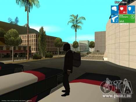 Le voleur de banque pour GTA San Andreas deuxième écran